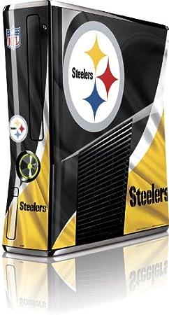 Skinit Pittsburgh Steelers Vinyl Skin for Microsoft Xbox 360 Slim (2010)