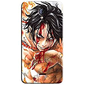 ONE PIECE ACE 2 BACK COVER FOR MICROMAX UNITE 2