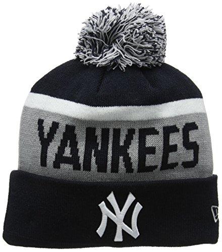 New Era Team Jake Ny Yankees Knit, Cuffia Uomo, Blu (Navy), Taglia Unica (Taglia Produttore: One Size)