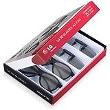 LG AG-F314 - Gafas 3D (4 unidades), negro