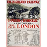 Railway Excursion Poster (Print On Demand)