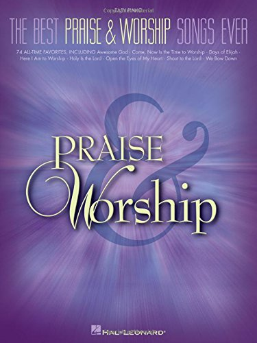 The Best Praise and Worship Songs Ever (Easy Piano) (Worship Music For Kids compare prices)