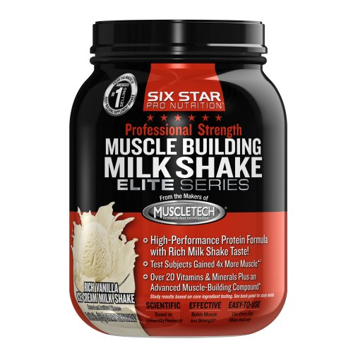 ... Musclebuilding Milkshake, Rich Vanilla Ice Cream, 2-Pound | Healthy