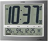 CITIZEN (シチズン) 電波掛け時計 パルデジットワイド140 8RZ140-019
