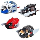 Kung Zhu Ninja Warrior Battle Armor Set of 4