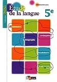 Épithète 5e  Étude de la langue  Manuel de l'élève