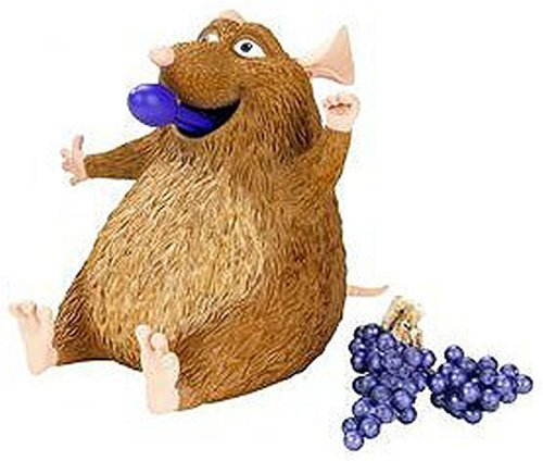 Buy Low Price Mattel Disney Pixar Ratatouille Movie Toy Basic Action Figure Emile (B000RLBLVE)