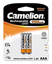 Camelion NH-AAA1100LBBP2 Rechargeable Battery