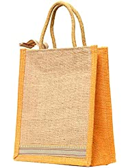 Multi-purpose Jute Carry Bag/lunch Bag/shopping Bag - B01LZ4J3LP