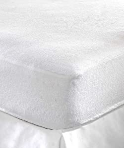 Terry Towel Waterproof Fitted Sheet Mattress Protector Luxury Cover from Ocean Trading