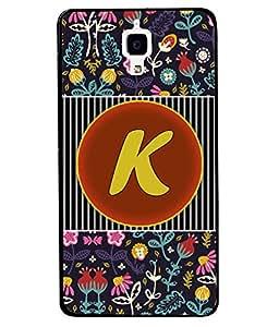 PrintVisa Metal Printed Alphabet Designer Back Case Cover for Xiaomi Mi 4-D4794