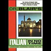 Dr. Blair's Italian in No Time | [Robert Blair]