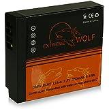 Power Batterie DMW-BLH7 | DMW-BLH7E pour Panasonic Lumix DMC-GM1 [ Li-ion; 750mAh; 7.2V ]