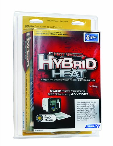 Camco 11673 Hot Water Hybrid Heat Kit - 6 Gallon (Hot Water Heater Installation Kit compare prices)
