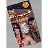 WWF: Royal Rumble 1993 [VHS] ~ Bret Hart
