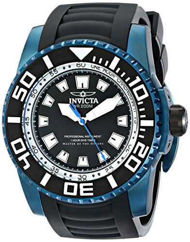 Invicta Men'S 14667 Pro Diver Analog Display Swiss Quartz Black Watch