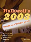 Halliwell's Film & Video Guide 2003 (0060508906) by Leslie Halliwell