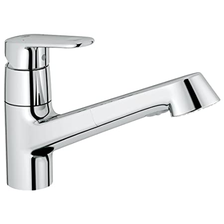Europlus Single-Handle Pull-Out Kitchen Faucet
