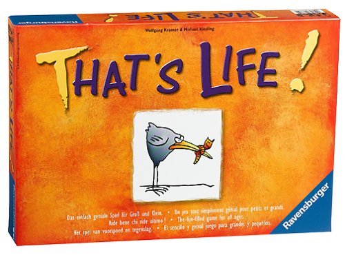 That's Life Board Game - Buy That's Life Board Game - Purchase That's Life Board Game (Ravensburger, Toys & Games,Categories,Games,Board Games)
