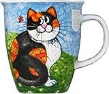DUNOON ダヌーン マグカップ イギリス製 大容量 0.48Lタイプ Happy Cats Tortoiseshell