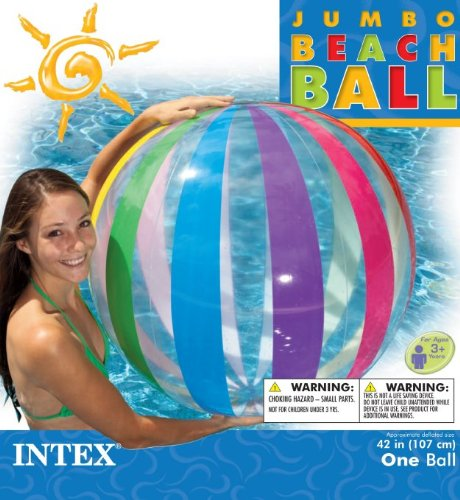 Intex Jumbo Inflatable Giant Beach Ball free shipping 3m rolling ball on grass inflatable bumper ball zorb ball inflatable human hamster balls