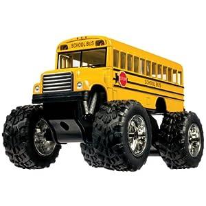 """Toysmith Monster Bus, 5"""" by Toysmith"""