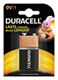 Duracell Alkaline Battery 9V with Duralock Technology (1 Piece)