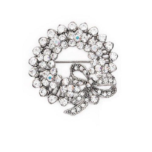 Fashion Trendy Brooch Silver #006580
