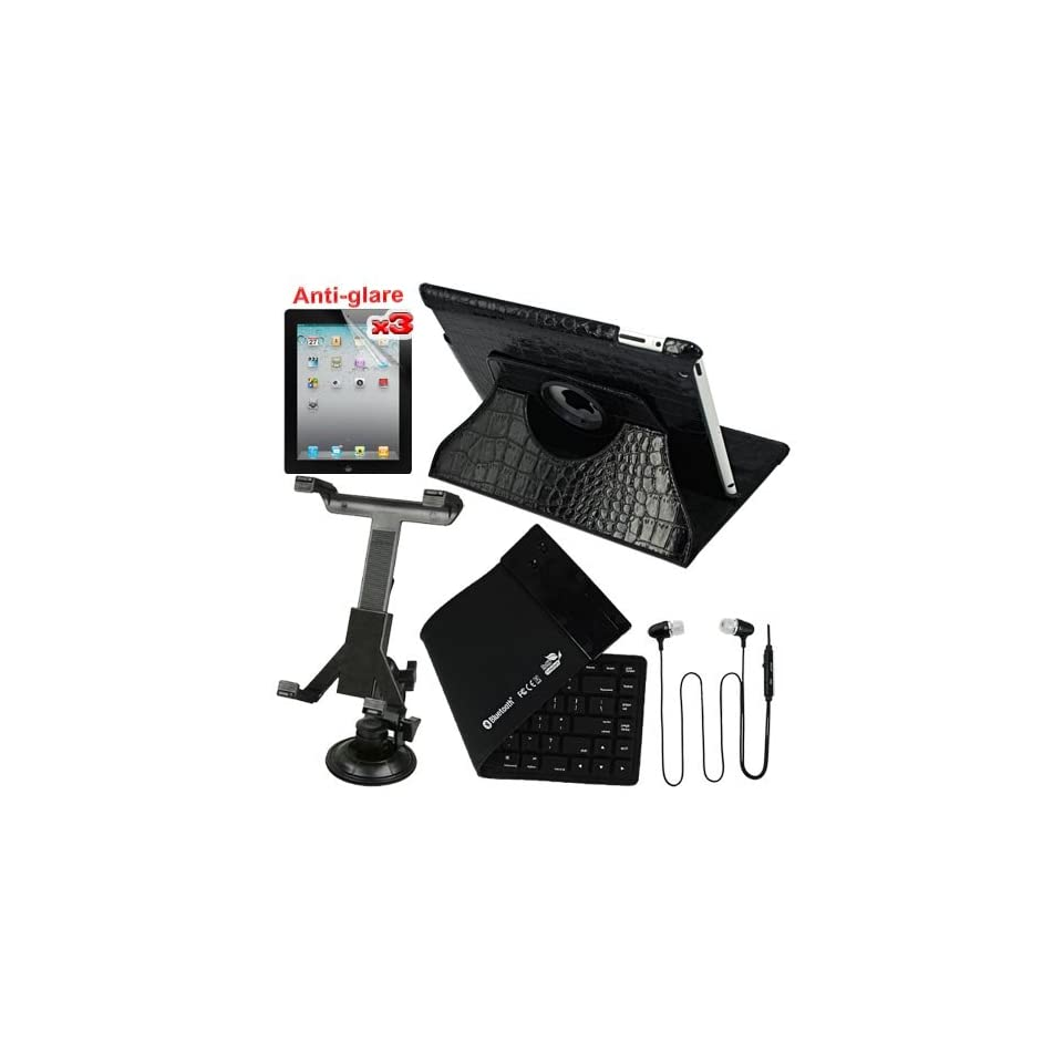 Premium 3 Packs of Anti Glare Screen Protector Guard
