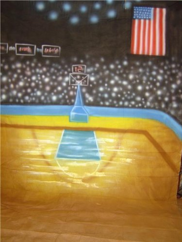 10x20 Basketball Scenic Muslin Background Backdrop