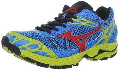 Mizuno Women's Wave Ascend 7 Trail Running Shoes,Fluorite/Spicy Red/Lichen,6 B US