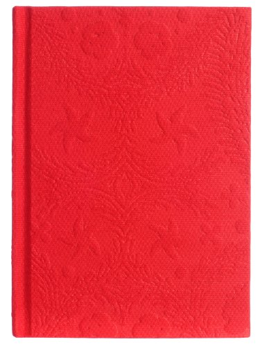 Christian Lacroix Rouge Sketchbook, 7.25 x 5.25 Inches, 128 Blank Pages, Red (19542)