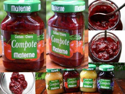 フルーツ果肉たっぷりのベルギー産マテルネコンポート チェリーコンポート