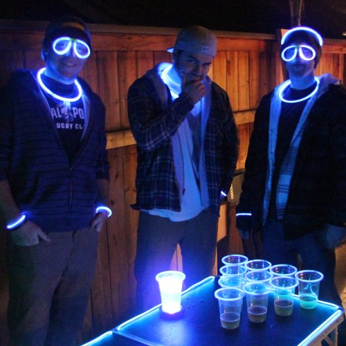GLOWPONG-Glowing-Game-Set-Competition-Green-vs-Ice-Blue