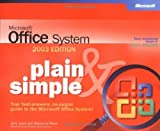 img - for Microsoft  Office System Plain & Simple -- 2003 Edition (Bpg-Plain & Simple) 2003-2003rd edition by Joyce, Jerry, Resources, Moon Joyce, Moon, Marianne (2003) Paperback book / textbook / text book