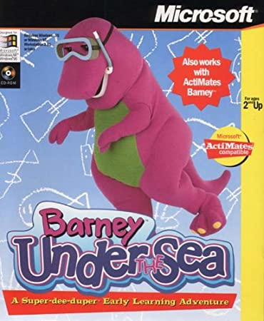 Microsoft Actimates Barney Under The Sea