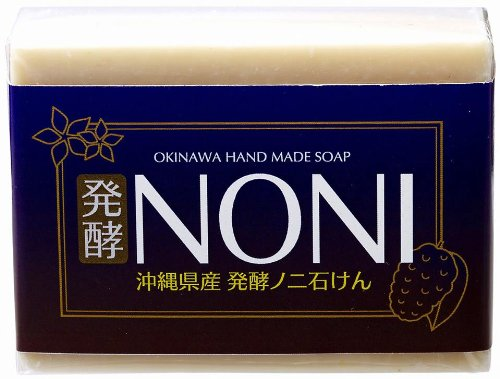 GreenEarth 沖縄手作りナチュラル洗顔 NONI石鹸 100g×1個