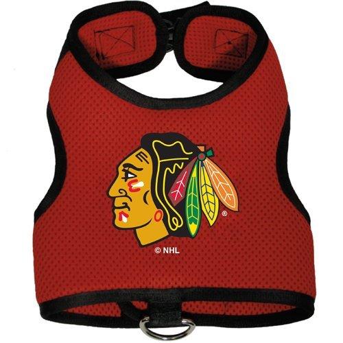 Chicago Blackhawks Pet Dog Premium Mesh Vest Harness SMALL (Chicago Blackhawks Dog Harness compare prices)