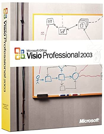 Microsoft Visio Professional 2003 [OLD VERSION]