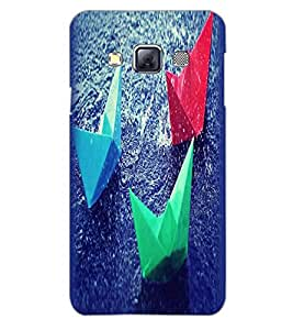 SAMSUNG GALAXY A3 COLORFUL BOATS Back Cover by PRINTSWAG