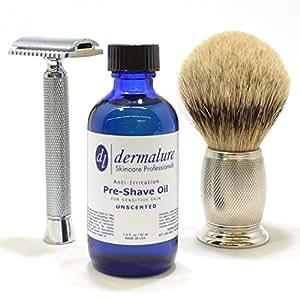 best pre shave beard shaving oil 2 fl oz 60 ml unscented 100 all natural oil for. Black Bedroom Furniture Sets. Home Design Ideas