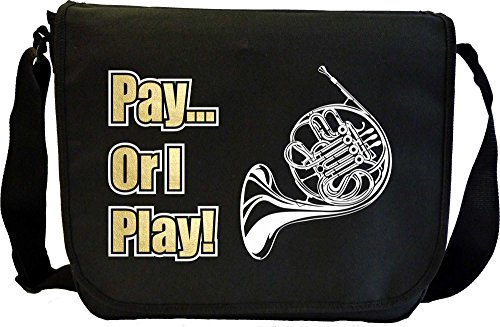 French-Horn-Pay-or-I-Play-Sheet-Music-Document-Bag-Musik-Notentasche-MusicaliTee