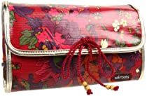 Hot Sale The SAK Roots Fold Over Hanging Organizer Travel Kit,Scarlet Flower Power,One Size