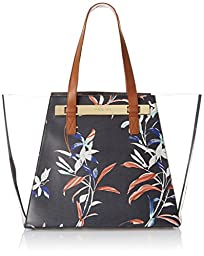 Vince Camuto Jace Travel Tote, Peacoat Flora, One Size