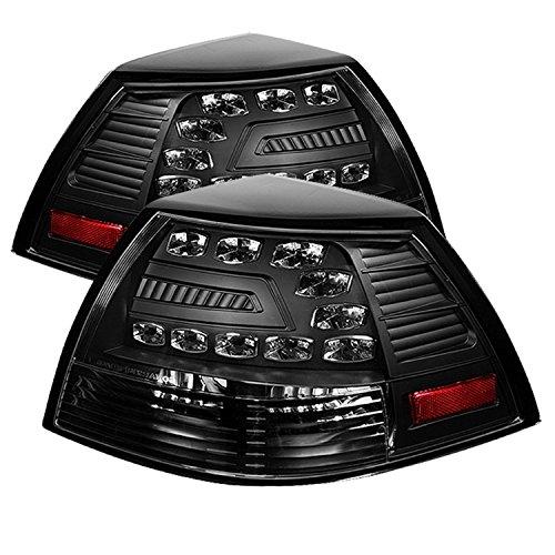 Spyder Auto ALT-YD-PG808-LED-BK Black LED Tail Light (Pontiac G8 Lights compare prices)