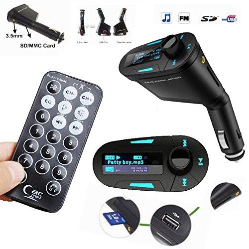 Car Kit MP3 Player Wireless FM Transmitter Modulator USB SD