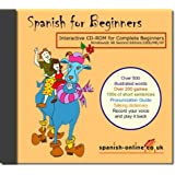 Spanish for Beginners: Interactive Multimedia CD-ROMby Maria Fernandez