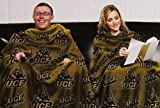 NCAA UCF Knights football Comfy Throw Blanket with Sleeves