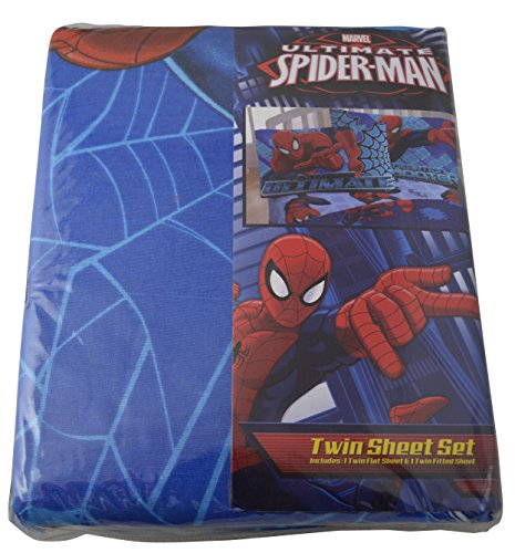 Marvel Ultimate Spiderman 2pc Twin Sheet Set