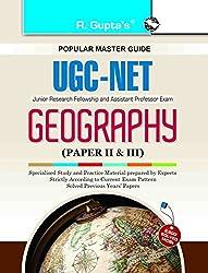 UGC NET/SLET Geography (Paper II & III) Exam Guide (CBSE UGC (NET) JRF & Asstt. Professor Exam)